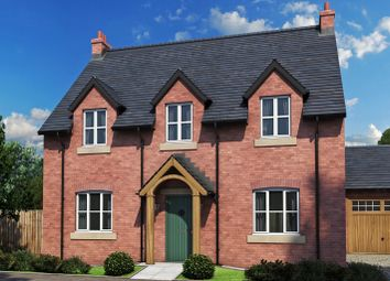 Thumbnail 4 bed detached house for sale in The Hanbury, Etwall Road, Willington, Derby