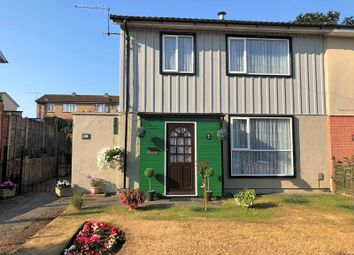 Thumbnail 3 bed semi-detached house for sale in Wavell Road, West Howe, Bournemouth
