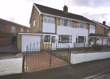 Thumbnail 3 bed semi-detached house for sale in Peartree Close, Barlaston, Stoke-On-Trent