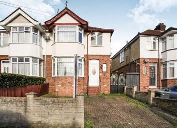 Thumbnail 3 bed semi-detached house for sale in Meyrick Avenue, Luton, Bedfordshire