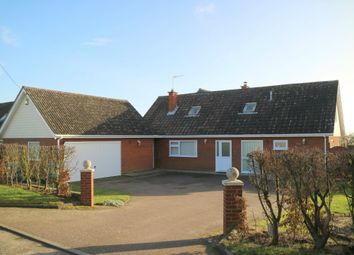 Thumbnail 4 bed detached house for sale in Ipswich Road, Brantham, Ipswich, Suffolk