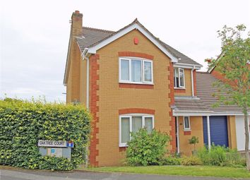 Thumbnail 4 bed link-detached house for sale in Oak Tree Court, Crownhill, Plymouth