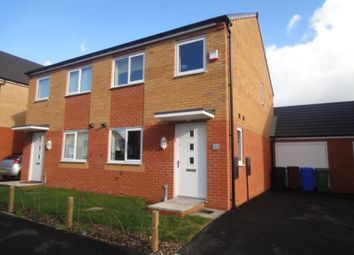Thumbnail 3 bedroom semi-detached house to rent in Redfield Close, Corley Walk, Manchester