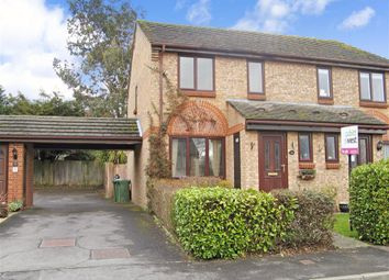 Thumbnail 3 bed semi-detached house for sale in Walmer Close, Southwater, West Sussex