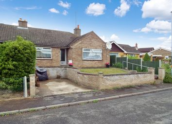 Thumbnail 3 bed semi-detached bungalow for sale in Windmill Close, Wollaston, Northamptonshire