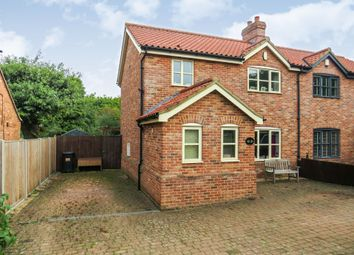 3 bed semi-detached house for sale in The Street, Ashwellthorpe, Norwich NR16