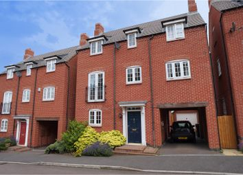 Thumbnail 4 bed detached house for sale in Portsmouth Close, Church Gresley