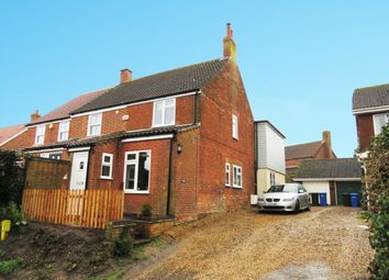 Thumbnail 3 bed semi-detached house for sale in Mill Lane, Barnby, Beccles