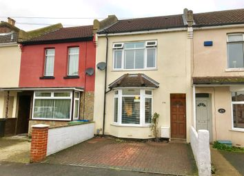 Thumbnail 3 bed terraced house for sale in Manor Road North, Southampton