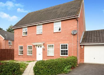 Thumbnail 4 bed detached house for sale in George Road, Thetford