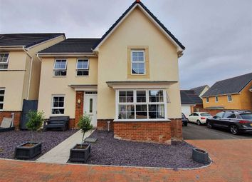 Thumbnail 4 bed detached house for sale in Valley View, Loughor, Swansea