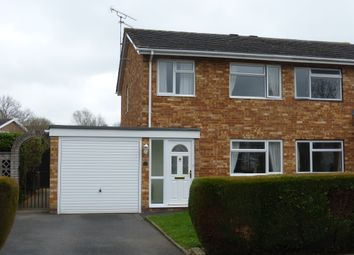 Thumbnail 3 bed semi-detached house for sale in Siddons Road, Hereford