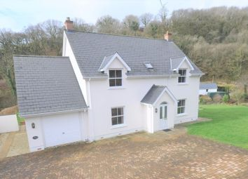 Thumbnail 4 bed detached house for sale in Rose Cottage, Cwmfelin Boeth, Whitland