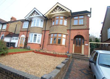 Thumbnail 3 bed property to rent in Wardown Crescent, Luton