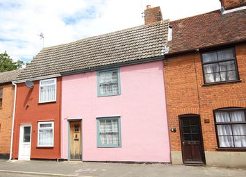 Thumbnail 2 bed cottage for sale in The Street, Bramford, Ipswich, Suffolk