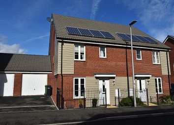 Thumbnail 3 bed semi-detached house for sale in Mulligan Drive, The Rydons, Exeter