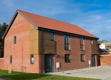 Thumbnail 3 bed semi-detached house for sale in Maple Park, Long Stratton, Norwich