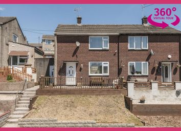 Thumbnail 2 bed semi-detached house for sale in Maple Avenue, Risca, Newport