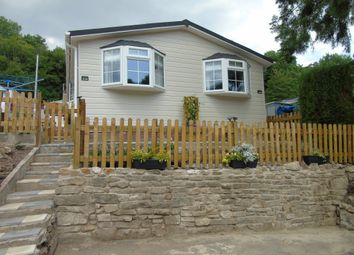 Thumbnail 1 bed mobile/park home for sale in Waun Wern Park, Crumlin Road, Pontypool
