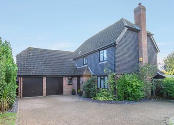 Thumbnail 4 bed detached house for sale in Harrold Close, Taverham, Norwich
