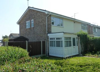 Thumbnail 3 bedroom semi-detached house to rent in Half Moon, Gorleston, Great Yarmouth