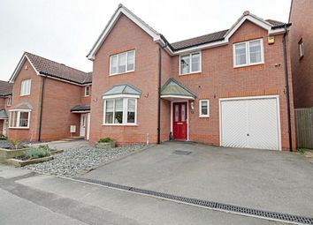 Thumbnail 4 bed detached house for sale in Portland Way, Clipstone Village, Mansfield, Nottinghamshire