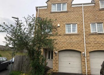 Thumbnail 3 bed town house to rent in Old Station Court, Heckmondwike