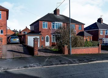 Thumbnail 3 bed semi-detached house for sale in Park Avenue, Weston Coyney, Stoke-On-Trent