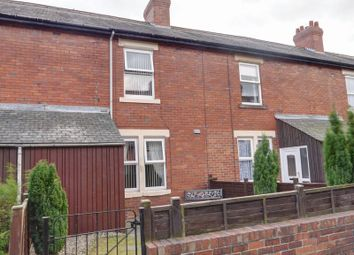 Thumbnail 3 bedroom terraced house for sale in Richmond Terrace, Walbottle, Newcastle Upon Tyne