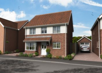 Thumbnail 4 bed detached house for sale in Plot 3, Nursery Close, Lowestoft