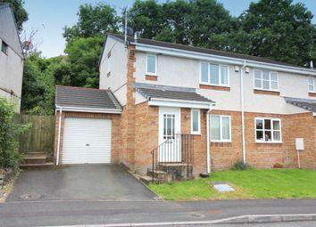 Thumbnail 3 bed semi-detached house to rent in Pollards Way, Saltash