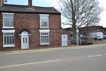 Thumbnail 2 bed end terrace house to rent in Wilmslow Road, Handforth, Cheshire