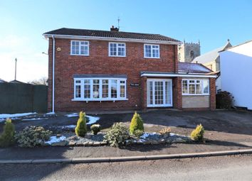 Thumbnail 4 bed detached house for sale in Normanby Road, Stow, Lincoln