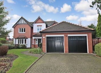 Thumbnail 4 bed detached house to rent in Kingsbury Drive, Wilmslow