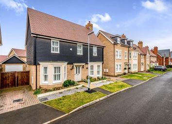 Thumbnail 4 bed detached house for sale in Maunder Avenue, Biggleswade, Bedfordshire