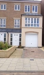 Thumbnail 3 bed terraced house to rent in Park View, Priors Hall Park, Corby