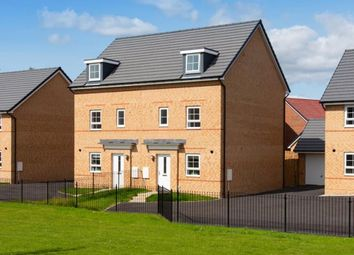 "Thumbnail 4 bed end terrace house for sale in ""Woodcote"" at Lee Lane, Royston, Barnsley"