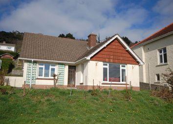 Thumbnail 4 bed detached bungalow for sale in Padarn Crescent, Llanbadarn Fawr, Aberystwyth