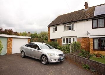Thumbnail 3 bed semi-detached house for sale in Braeside, Bedford
