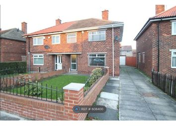 Thumbnail 3 bed semi-detached house to rent in Overdale Road, Middlesbrough
