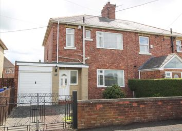 Thumbnail 3 bedroom semi-detached house for sale in The Crescent, Seghill, Cramlington