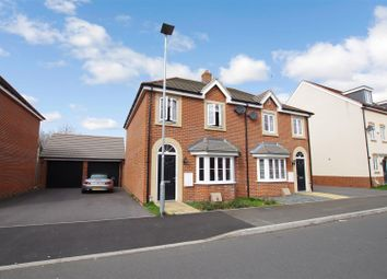 Thumbnail 3 bedroom semi-detached house to rent in Culverhouse Rd, The Sidings, Swindon