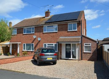 Thumbnail 4 bed semi-detached house for sale in Wordsworth Road, Shakespeare Gardens, Rugby