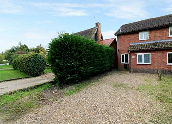 Thumbnail 2 bedroom semi-detached house for sale in Harvey Lane, Dickleburgh, Diss
