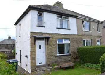 Thumbnail 3 bed semi-detached house for sale in Fleet Lane, Queensbury, Bradford