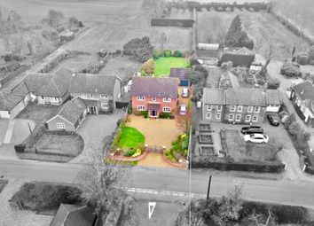 Thumbnail 4 bed detached house for sale in Caistor Lane, Caistor St. Edmund, Norwich