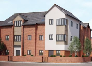 Thumbnail 2 bed flat for sale in Wharncliffe Road, Loughborough