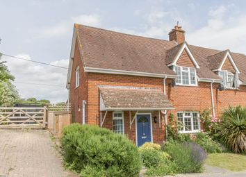 Thumbnail 3 bed semi-detached house for sale in Longstock, Stockbridge, Hampshire