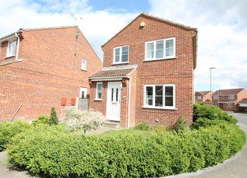 Thumbnail 3 bed detached house for sale in The Fairway, Sherburn In Elmet, Leeds