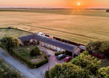 Thumbnail 4 bed barn conversion for sale in Goredike Bank, Gorefield, Wisbech, Cambridgeshire